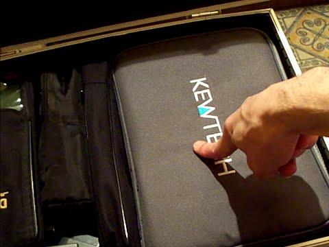 Test Time : The Kewtech bag of test-kit.