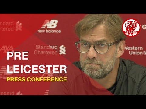 Leicester vs. Liverpool | Jurgen Klopp Press Conference
