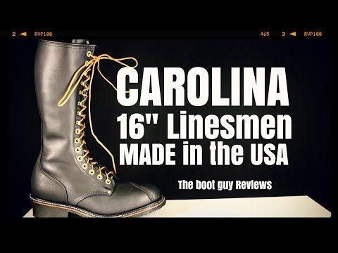 "CAROLINA 16"" Domestic Linesman - CA924 [ THE BOOT GUY REVIEWS ]"