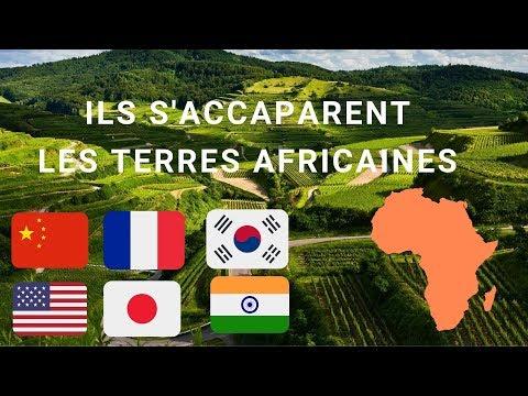 Le pillage des terres arables Africaines se fait sous nos yeux