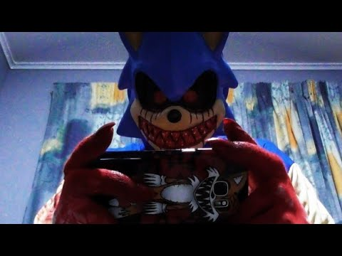 Sonic.EXE Plays A Mobile Game *Jump Scare Warning*