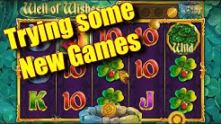 Trying some New Games - Online Slots - Casumo - The Reel Story