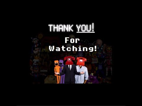 """All Endings to Dayshift at Freddy's 2 """"Thank you for watching"""""""
