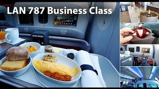 LAN Business Class 787-8 / 787-9 Inflight review (LA800 SYD-AKL-SCL, LA445 SCL- EZE)