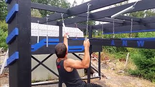 American Ninja Warrior Course - 10 obstacles
