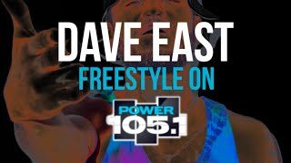 Dave East Power 105.1 Freestyle 11/30/14