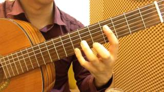 "How to play ""Triste Coeur"" on the Classical guitar"