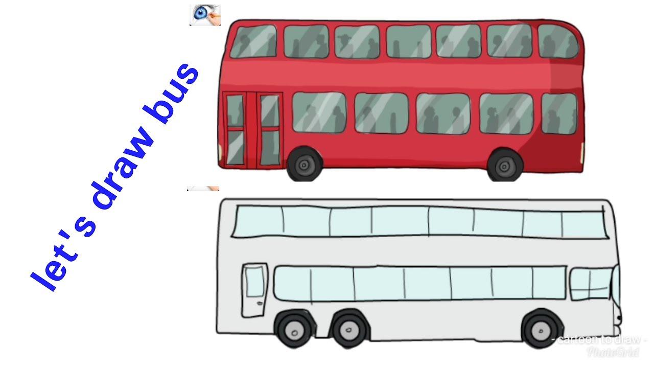 картинка автобус с флажками едет по улице файл выкройки платья