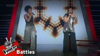 Yinka Williams vs Γεωργία Μπουζίκα - No Roots | 1o Battle | The Voice of Greece