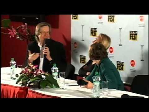 Febiofest Press Conference: Sandrine Bonnaire