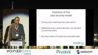 Java Security Architecture Demystified by Martin Toshev