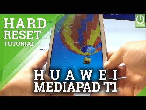 "HUAWEI MediaPad T1 8"" HARD RESET / REMOVE PASSWORD"