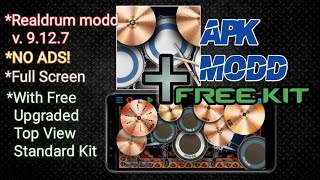 No Password ! Realdrum Modd + Top View Standard Preset kit | TUGS'TUPAKK!