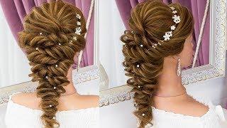 Прическа на Выпускной. Греческая Коса из жгутов. Amazing Prom Hairstyle