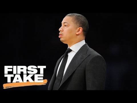 Tyronn Lue Thinks Coaching The Cavaliers Is The Hardest Job In NBA | First Take | May 3, 2017