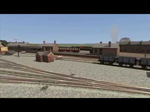 Train Simulator 2014 Project 1950's East Anglia First look (Norwich city to melton Constable)
