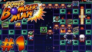 Power Bomberman (Bomberman Fan-Game) - Gameplay #1 [ No Commentary ]