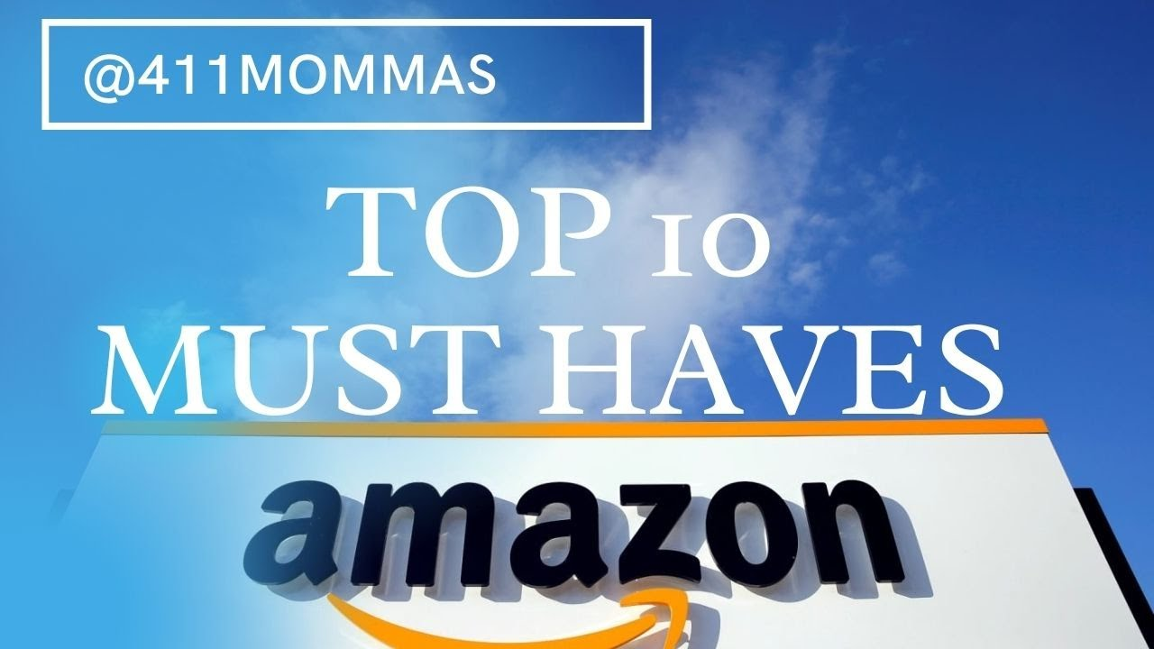 TOP 8 AMAZON MUST HAVES FOR 8  8mommas