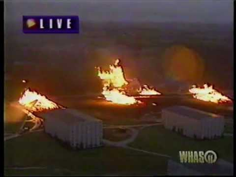 Whas Tv 1996 11 17 96 5pm News Distillery Fire Youtube