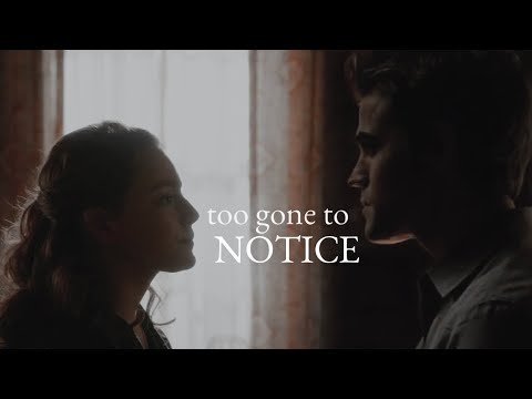 ✗ Hope+Stefan   Too gone to notice