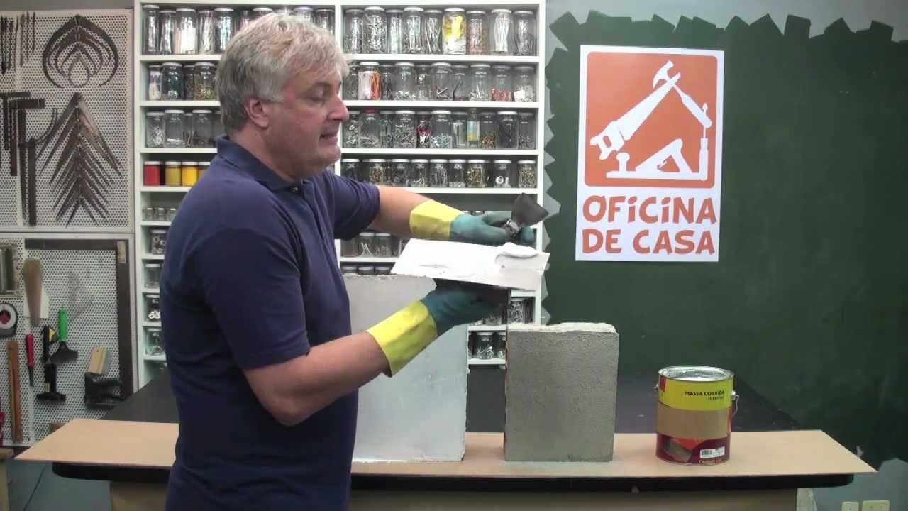 Como preparar uma parede para pintura DIY  Oficina de