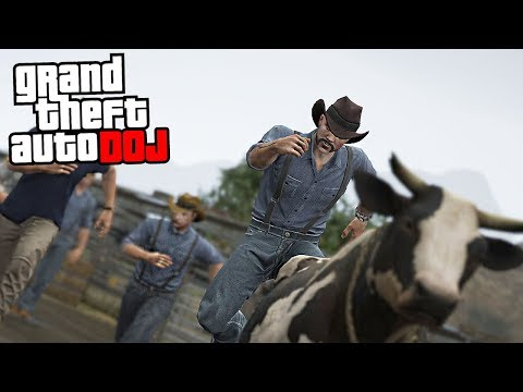 GTA 5 Roleplay - DOJ 16 - Farmers Gone Wild