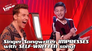 Conor sings his ORIGINAL SONG 'That Girl I Met' 🤩 | The Voice Stage #15