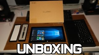 Unboxing Cube i10 - TABLET CHINÊS COM WINDOWS E ANDROID