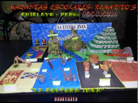 Maqueta La Cultura Inca By Alka Mkt