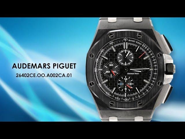 Audemars Piguet 26402CE.OO.A002CA.01 Royal Oak Offshore Chronograph 44mm Ceramic Watch