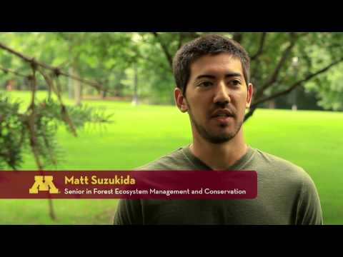 Forest and Natural Resource Management at the University of Minnesota