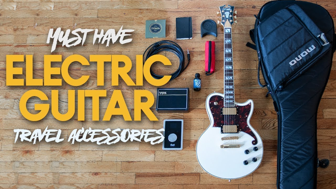 electric guitar accessories must have travel accessories youtube. Black Bedroom Furniture Sets. Home Design Ideas