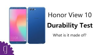Huawei Honor View 10 Durability Test丨What is it made of?