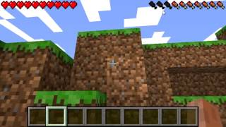 Minecraft PSP Edition v2.0 - PSP Gameplay