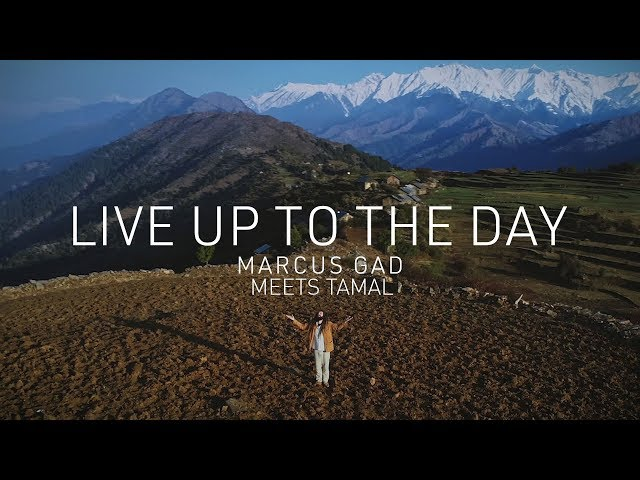 📺 Marcus Gad Meets Tamal - Live Up To The Day [Official Video]