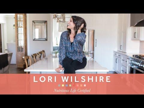 The Nutrition School Testimonial:  Lori Wilshire, NLC