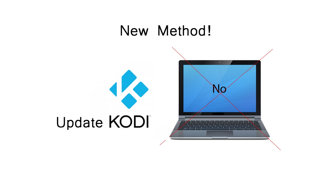 how to update kodi on fire tv without computer new method youtube