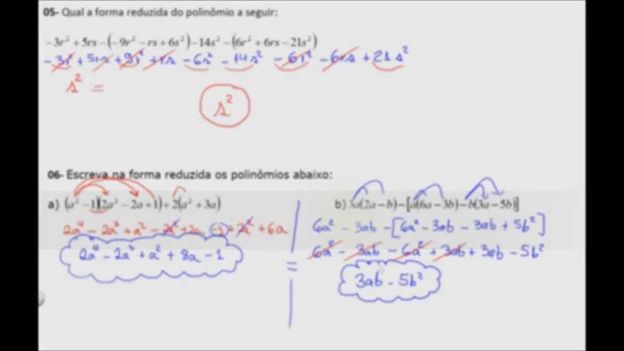 Exercicios Resolvidos Polinomios Fatoracao Parte 01 Youtube