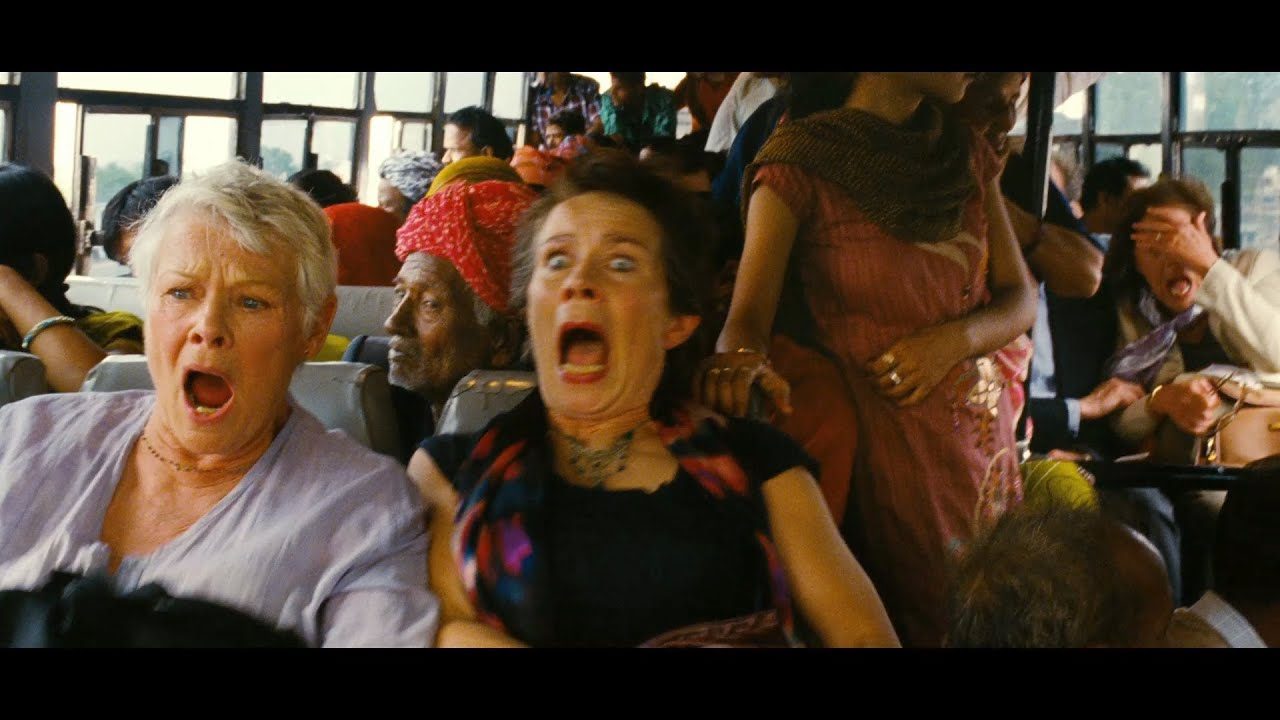 The Best Marigold Hotel Trailer