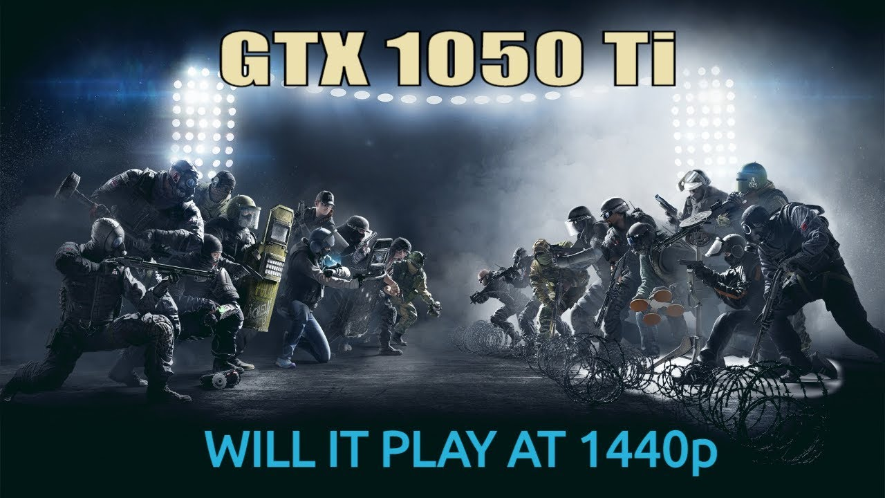 GTX 1050 Ti @ 1440p   New Games Tested