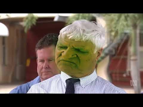 Bob Katter gets Angry over SSM & Crocodiles