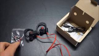 Amazon Best Seller: Otium Bluetooth earbud headphones unboxing and first review