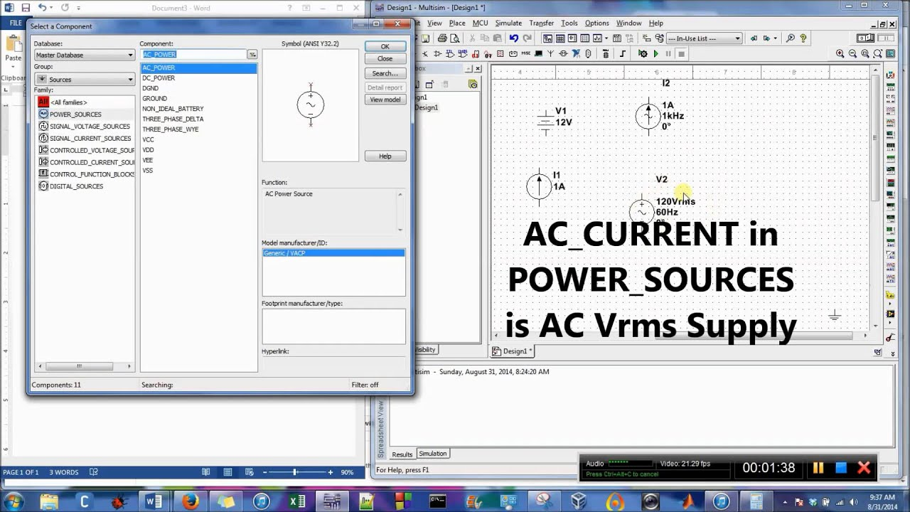 Ac Dc Power Supplies In Multisim Youtube How To Build An Add On Current Limiter For Your Psu