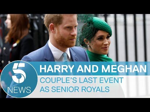 prince-harry-and-meghan's-final-appearance-as-senior-members-of-the-royal-family-|-5-news