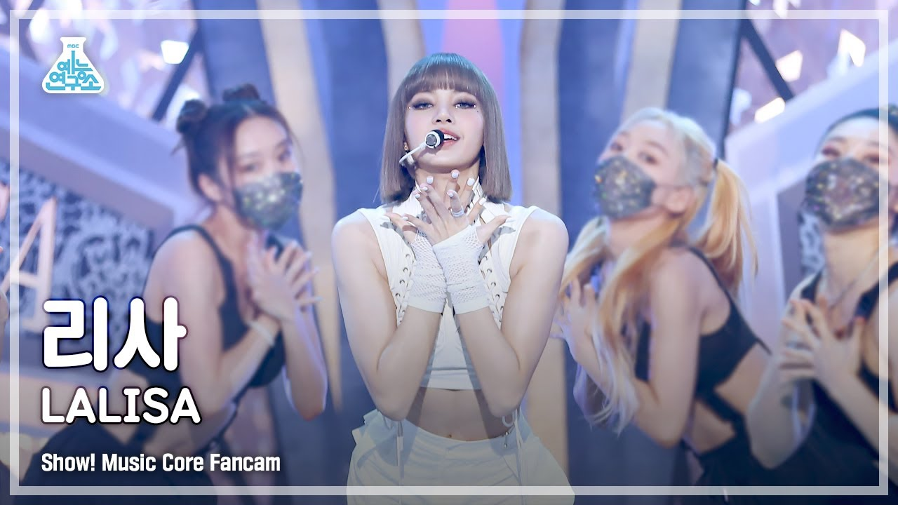 Download (ENG sub) [예능연구소 4K] 리사 직캠 'LALISA' (LISA FanCam) @Show!MusicCore 210925