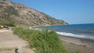 видео Веселовская бухта (Крым, Судак): отдых, отзывы, фото, пляж, описание