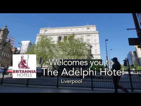 The Adelphi Hotel in Liverpool