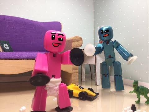#Stikbot: BabyBot-Sitting!