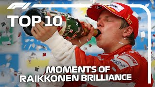 Top 10 Moments of Kimi Raikkonen Brilliance