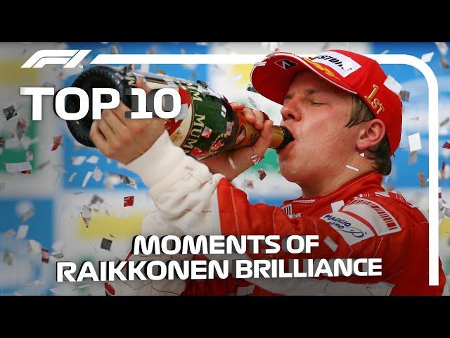 Top 10 Moments of Kimi Raikkonen Brilliance